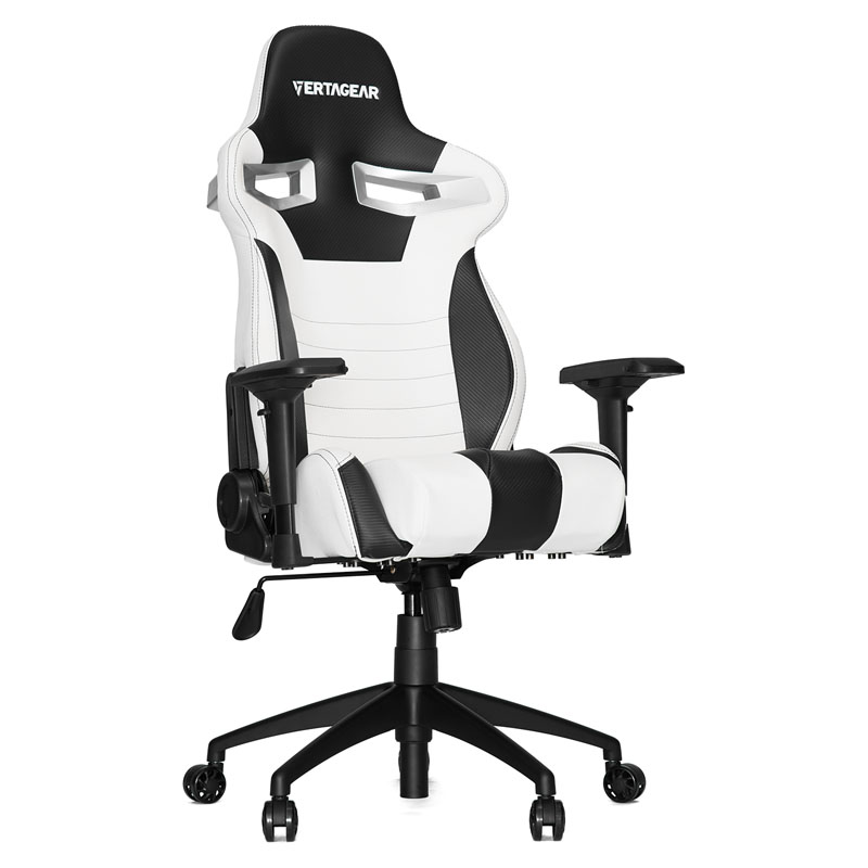 Vertagear Racing Series S-Line SL4000 Gaming Chair - White/Black Edition