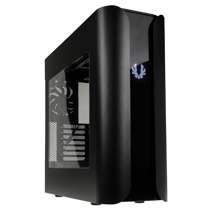 Bitfenix Pandora ATX Midi Tower Case w/ Icon Programmable Display - Black